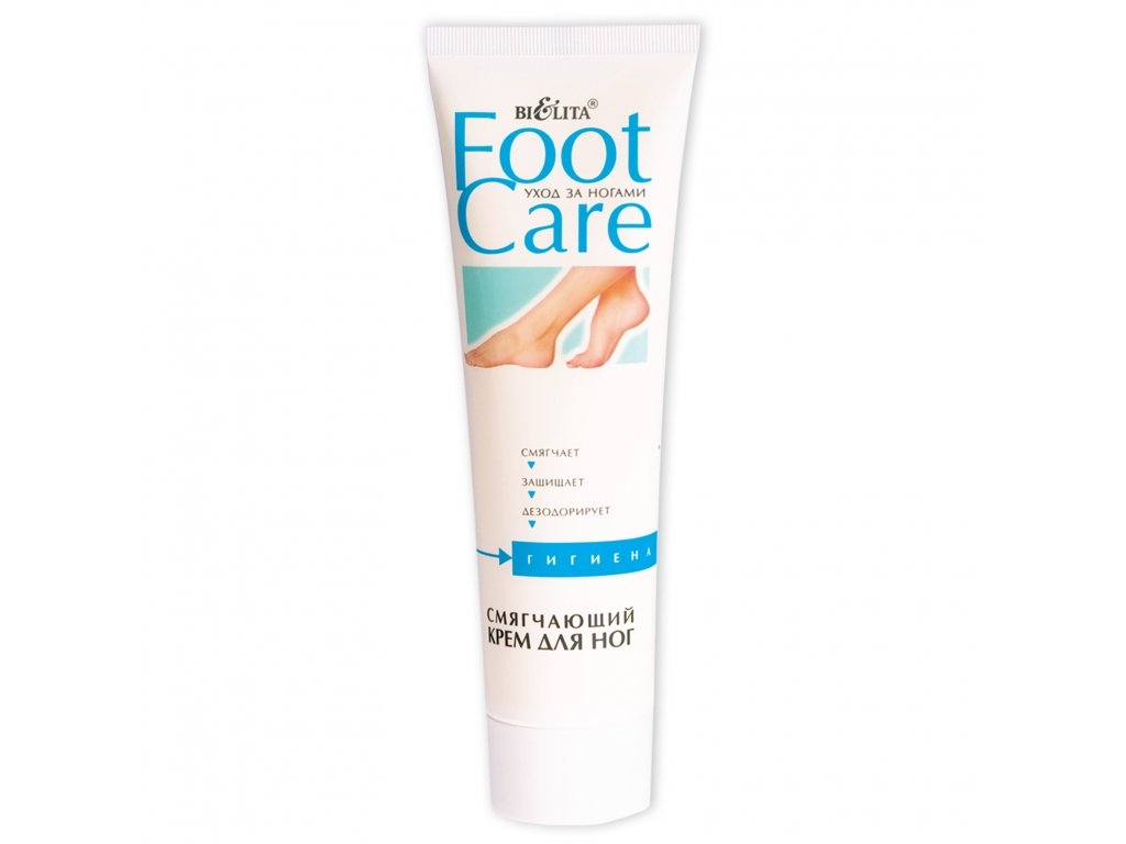 FOOT Care – Změkčující krém na nohy.
