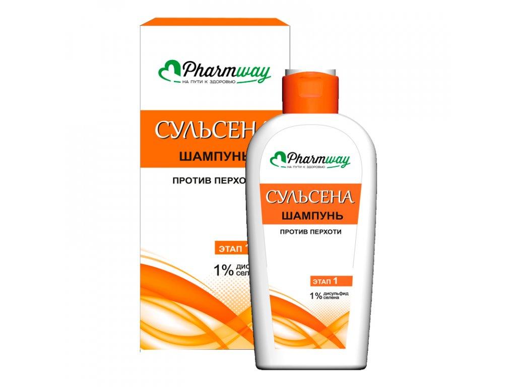 Pharmway SULSENA – Šampon proti lupům 1%