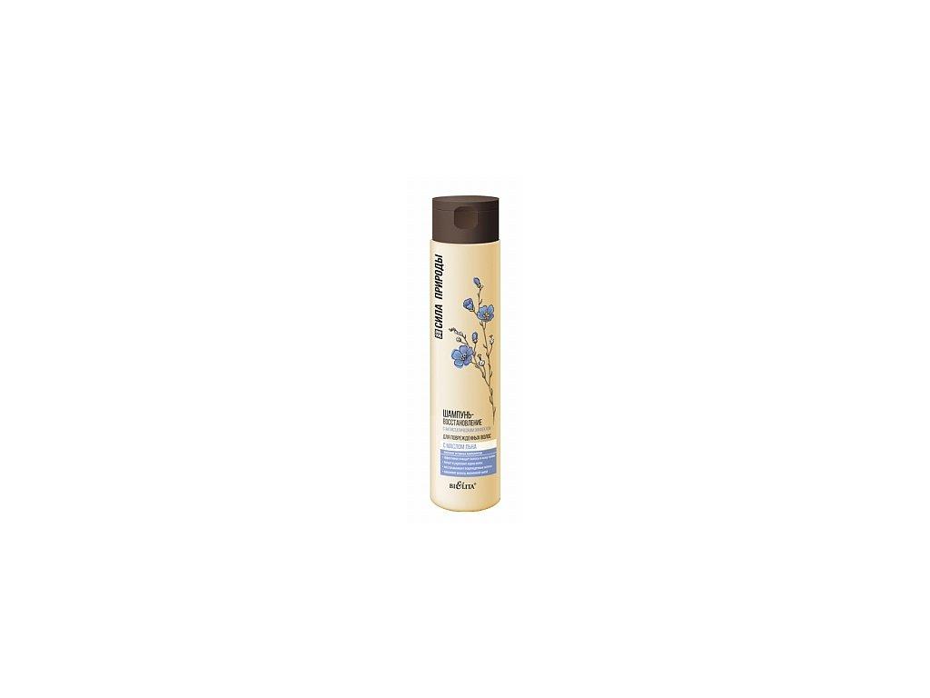 Síla přírody Obnovující šampon s lněným olejem