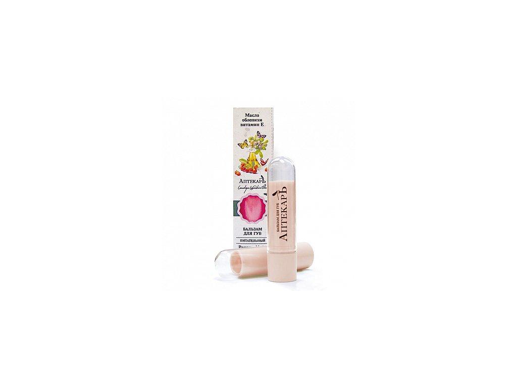 Aptěkar balzám na rty vyživující – rakytníkový olej + vitamín E