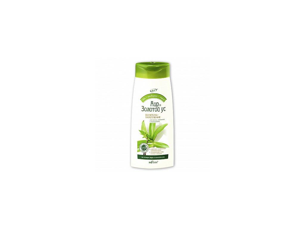 Bylinné odvary – posilující šampon z puškvorce a kalisie vonné