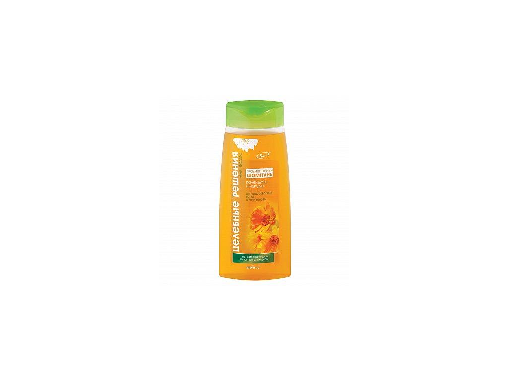 Zdravotní řešení – šampon pro tenké a jemné vlasy a podrážděnou a svědivou pokožku hlavy