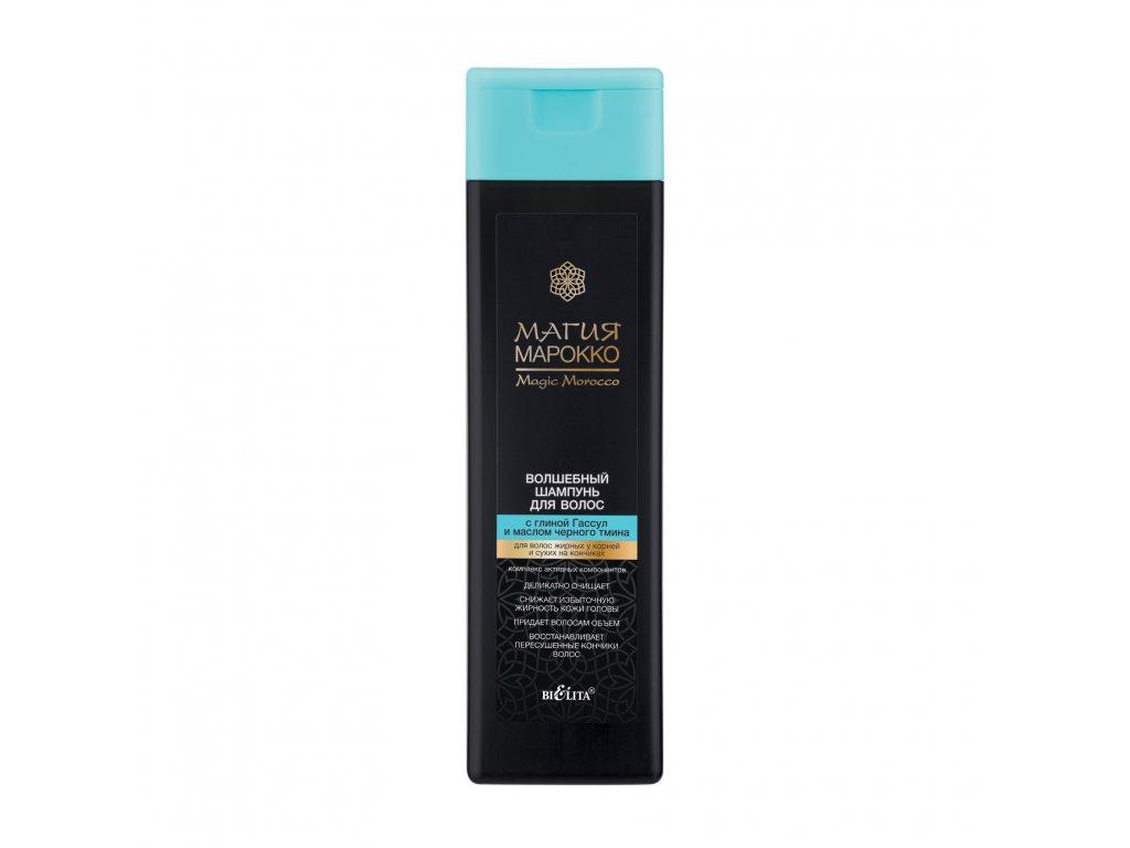 Magie Maroko Magický šampon na vlasy s vulkanickou hlínou a olejem z černého kmínu 370 ml