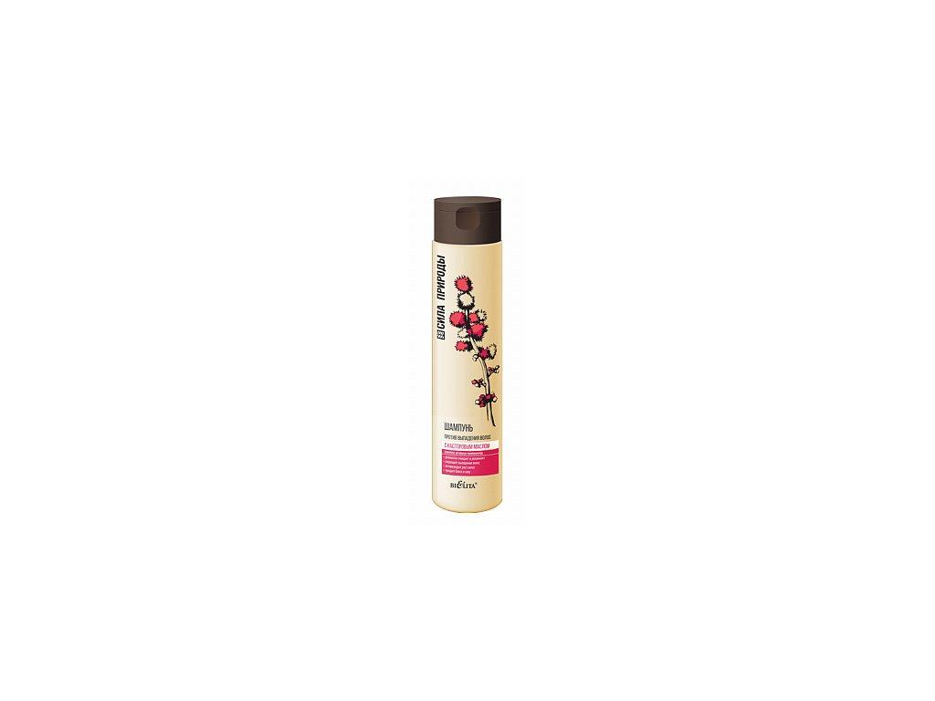 Síla přírody šampon s ricinovým olejem proti vypadování vlasů