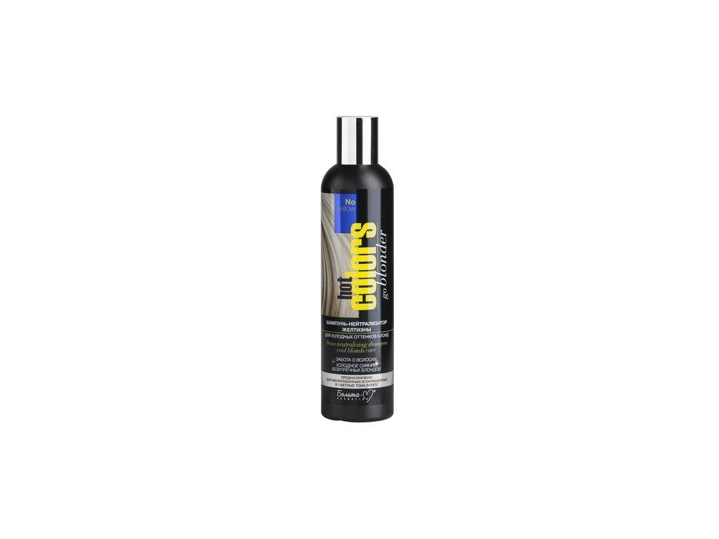 Hot Colours šampon neutralizér žlutých vlasů