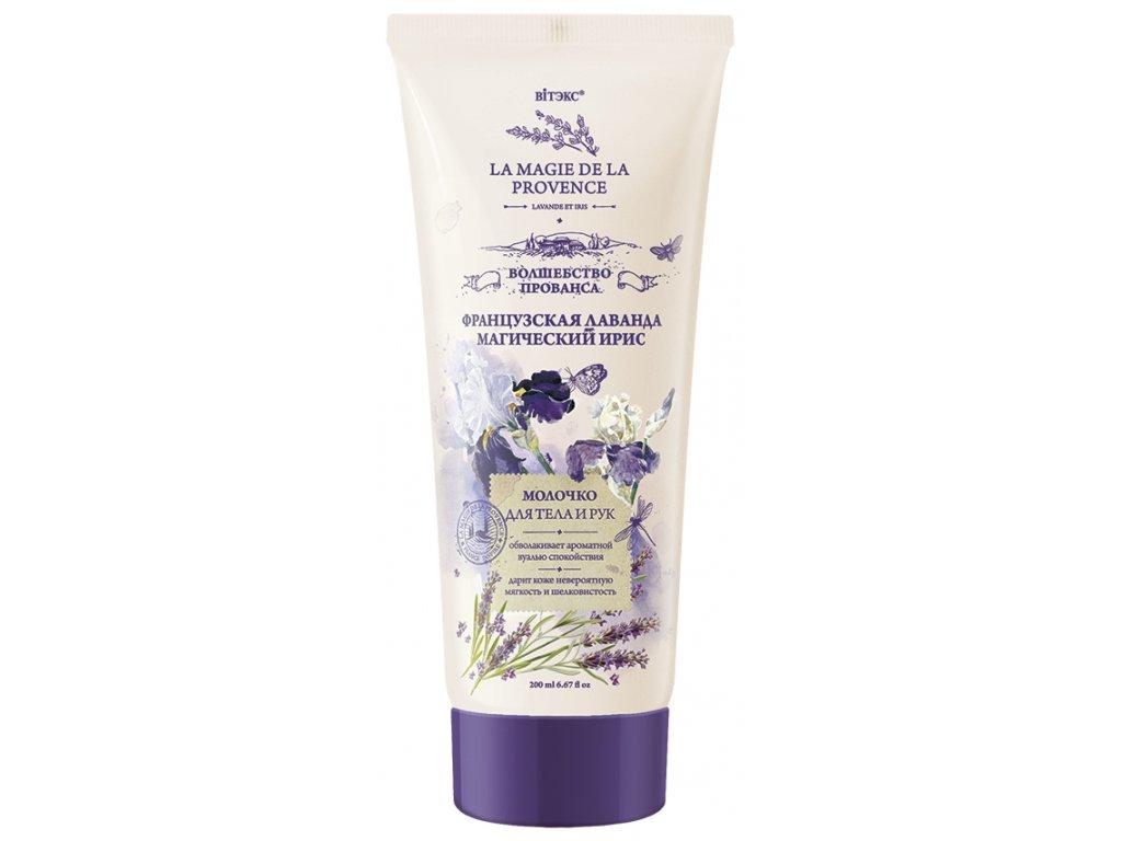 MAGIC PROVANCE mléko na tělo a ruce z francouzské levandule a tajemného irisu.