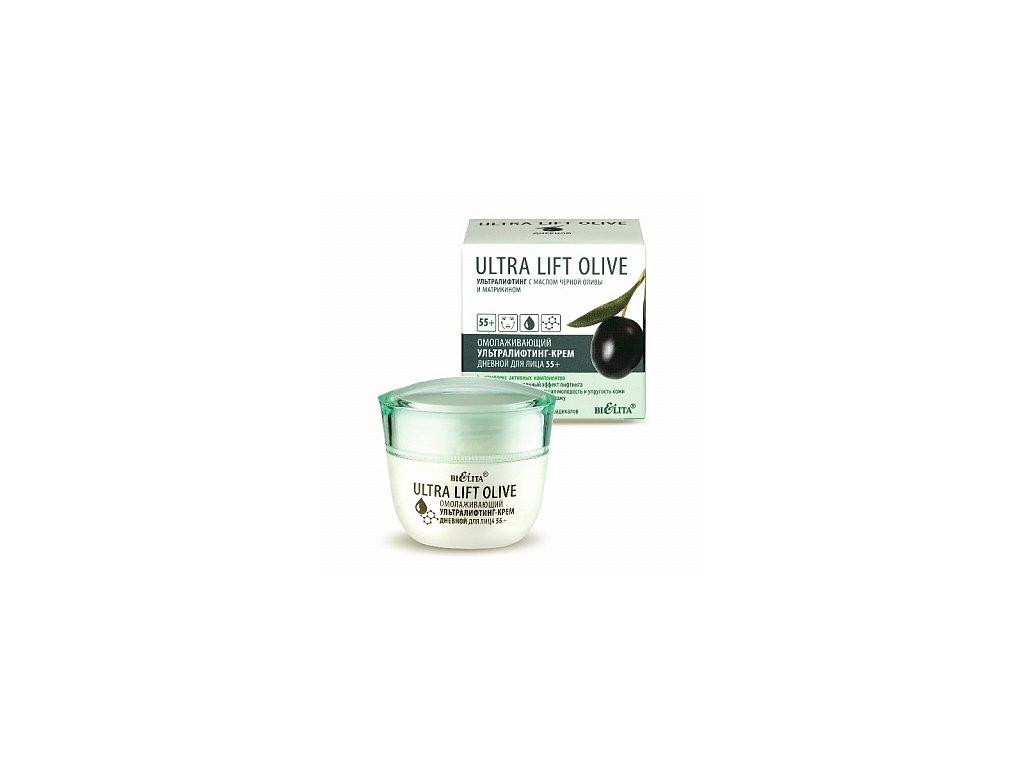 Ultra Lift Olive omlazující denní krém na obličej 55+