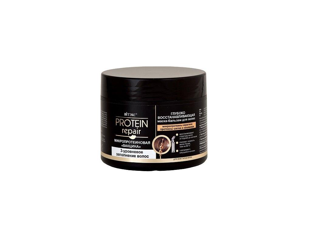 Protein Repair maska balzám pro vlasy, hluboko obnovující s mikroproteiny