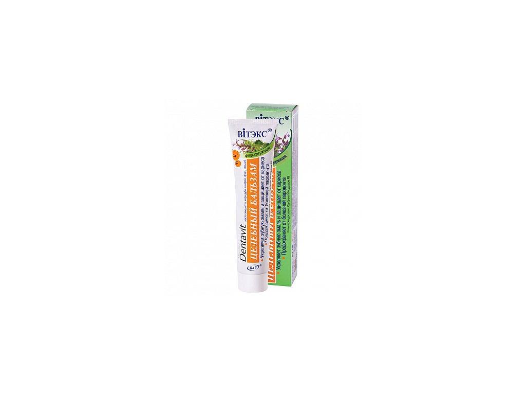 Dentavit zubní pasta s olejem z eukalyptu, dubovou kůrou a šalvějí