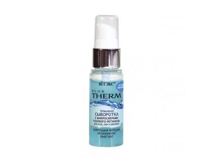 Blue Therm Termální sérum s modrými retinolovými mikrosférami pro tvář, krk a dekoltu.