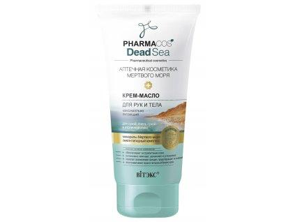 PharmaCos Dead sea Krém olej pro ruce a tělo – maximálně vyživující
