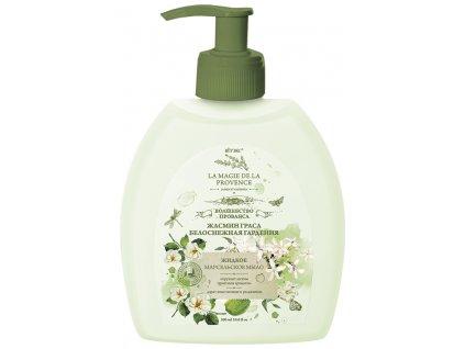 MAGIC PROVANCE tekuté marseilleské mýdlo z květu jasmínu a bílé gardénie