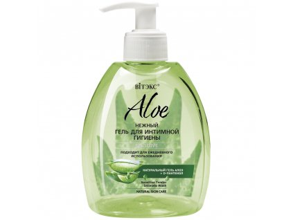 Aloe vera – Jemný gel pro intimní hygienu