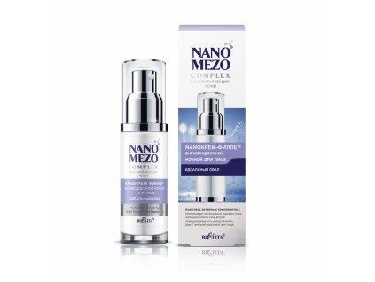 NANOMEZOcomplex – Nano Krém Anti aging noční filler na obličej