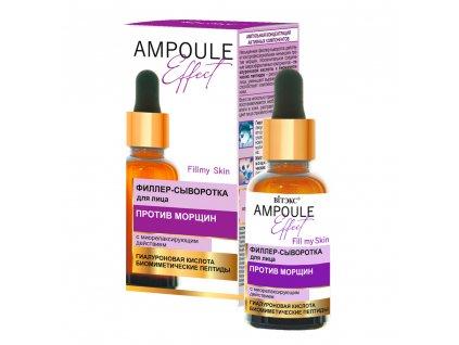 Ampoule Effect Sérum filer na pleť proti vráskám se svalovým relaxačním účinkem