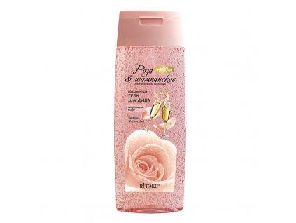 Rose & Champagne – Sváteční sprchový gel s růžovou vodou