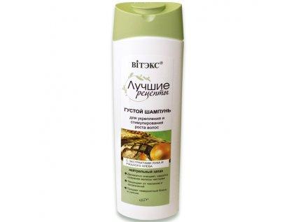 Nejlepší recepty Hustý šampon pro posílení a stimulaci růstu vlasů 470 ml
