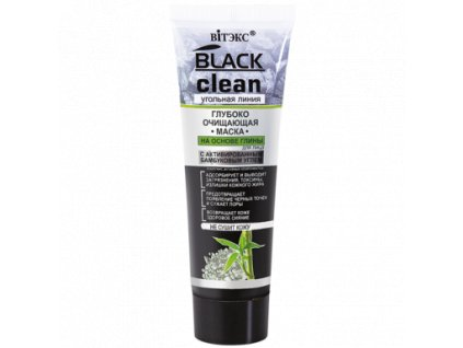Black Clean Hluboce čistící maska na obličej