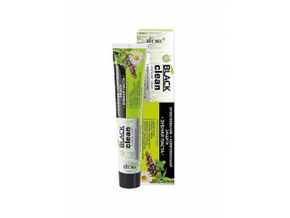 Black Clean zubní pasta bělící s léčivými bylinami