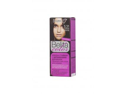 Belita Colour barva na vlasy s vitamíny hořká čokoláda