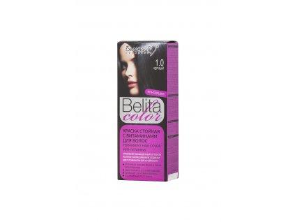 Belita Colour barva na vlasy s vitamíny černá