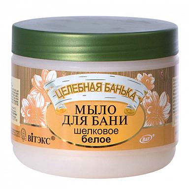 Belita-Vitex Léčebná lázeň - mýdlo do koupele bílé hedvábí 500 ml
