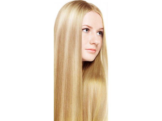 #18/613 blond melír deluxe clip-in 50cm 100g  BELLA HAIR