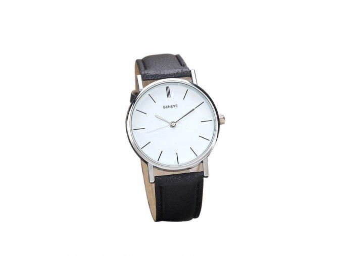 Černé dámské elegantní hodinky (AKCE 1+1 zdarma)
