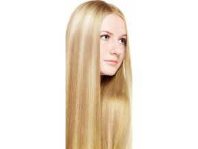 #18/613 blond melír deluxe clip-in 50cm 100g  BELLA HAIR