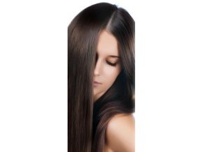 #2 nejtmavší hnědá deluxe clip-in 50cm 100g  BELLA HAIR