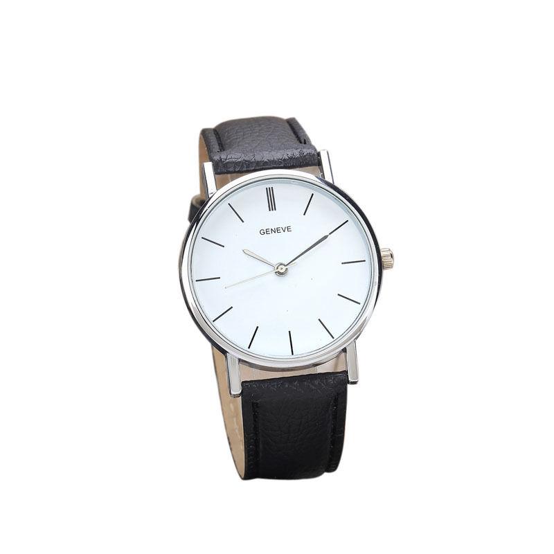 Černé dámské elegantní hodinky