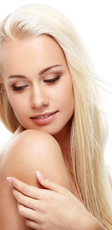 #613 světlá blond premium clip-in 55cm 120g