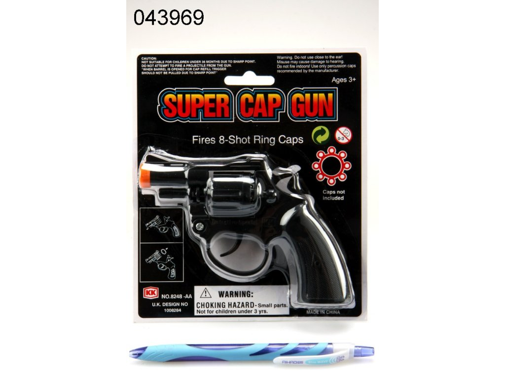 PISTOLE NA KAPSLE SUPER CAP GUN