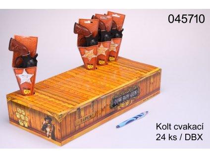 PISTOLE KOLT 24ks/DBX V PAP.POUZDRU