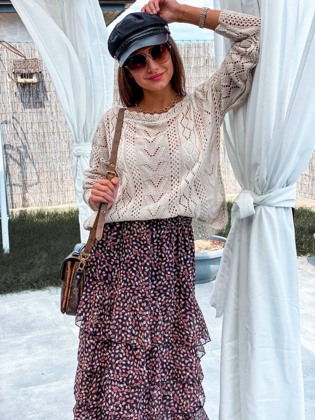 -Dámská sukně France UNI