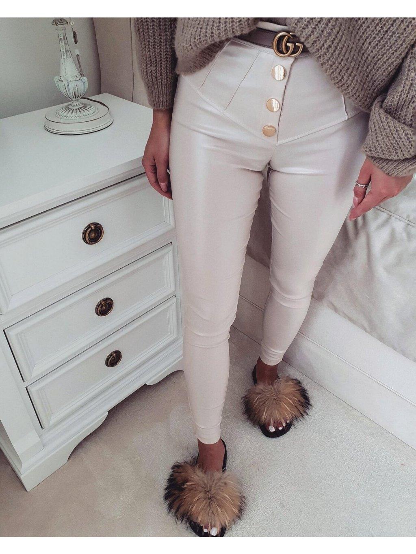 -Dámské kalhoty VOXX LIMITED Beige Béžová,XS