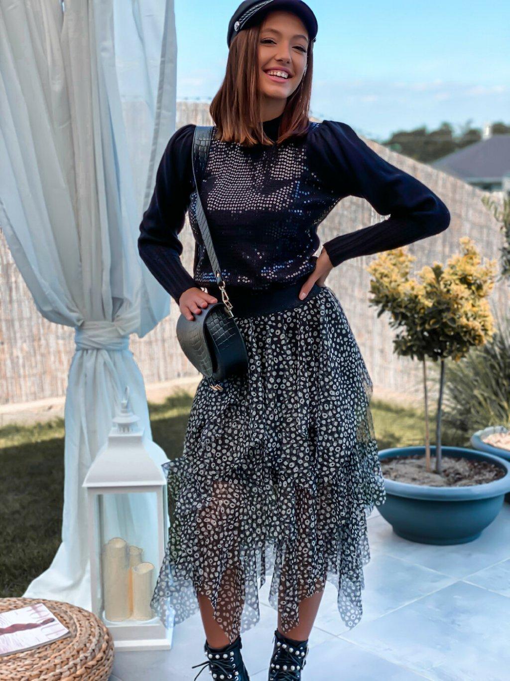-Dámská sukně Black UNI