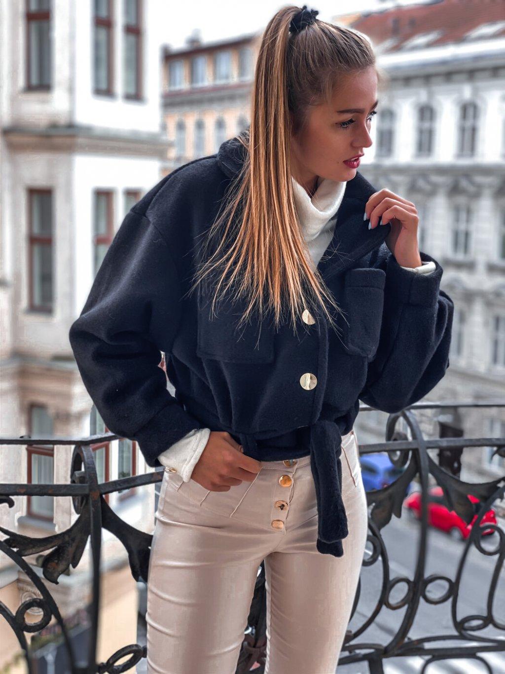 -Dámský kabátek OLA Černá,UNI