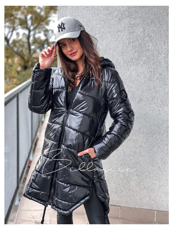 -Dámská zimní bunda King Black M