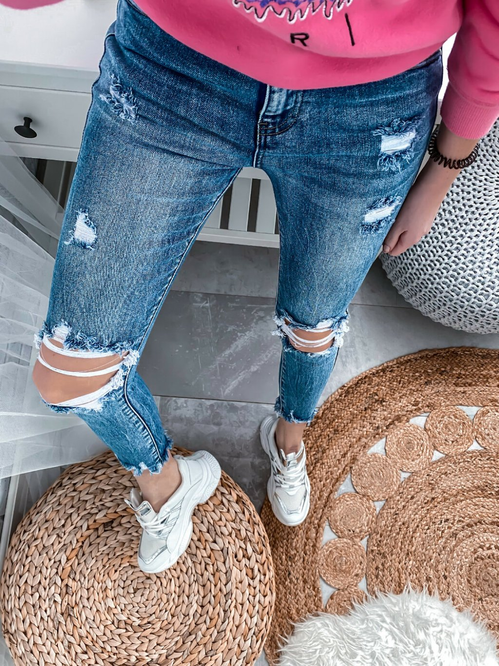 -Dámské Jeans Limited edition SIMPLY XS