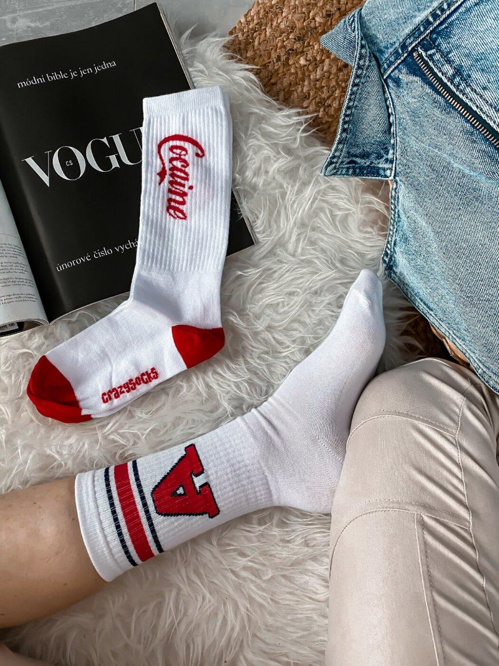 -Dámské modní ponožky UNI