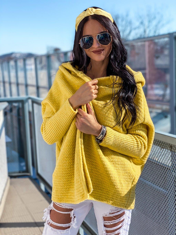 -Dámský jarní svetr