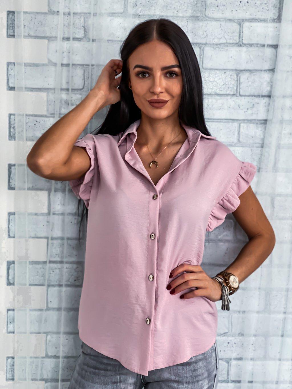 -Dámská elegantní košile Simple