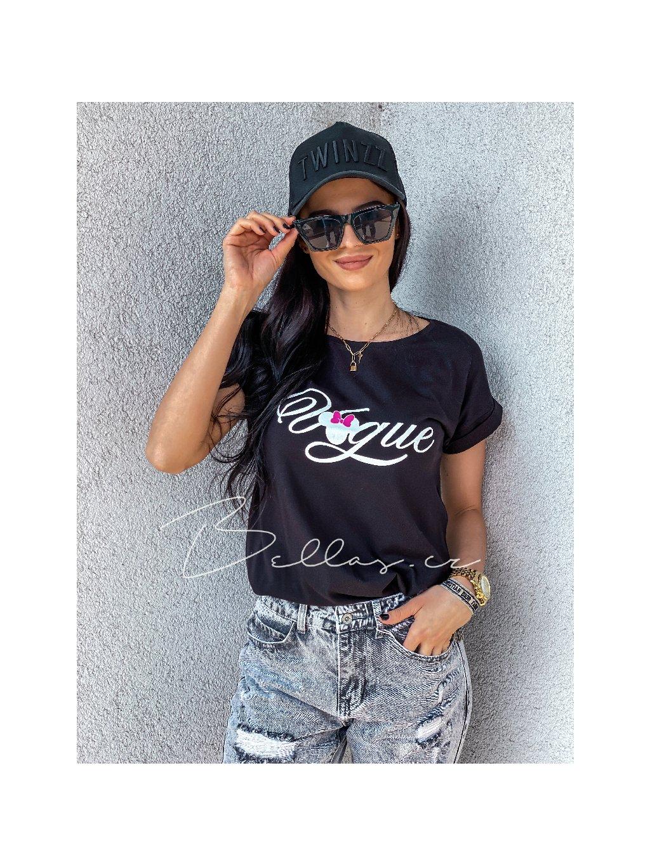 - Modní tričko Vogue