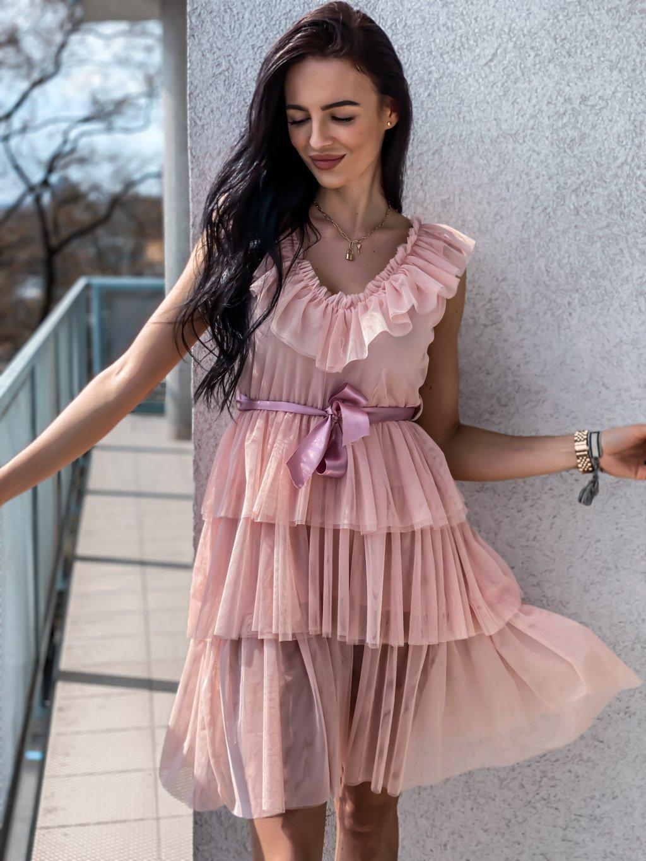 -Dámské volánkové šaty Jess