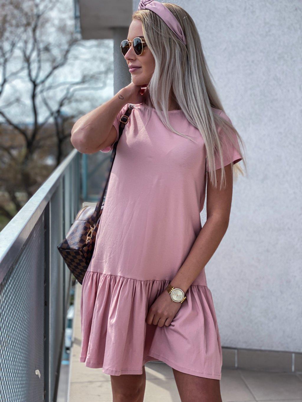 - Dámské basic šaty Ella