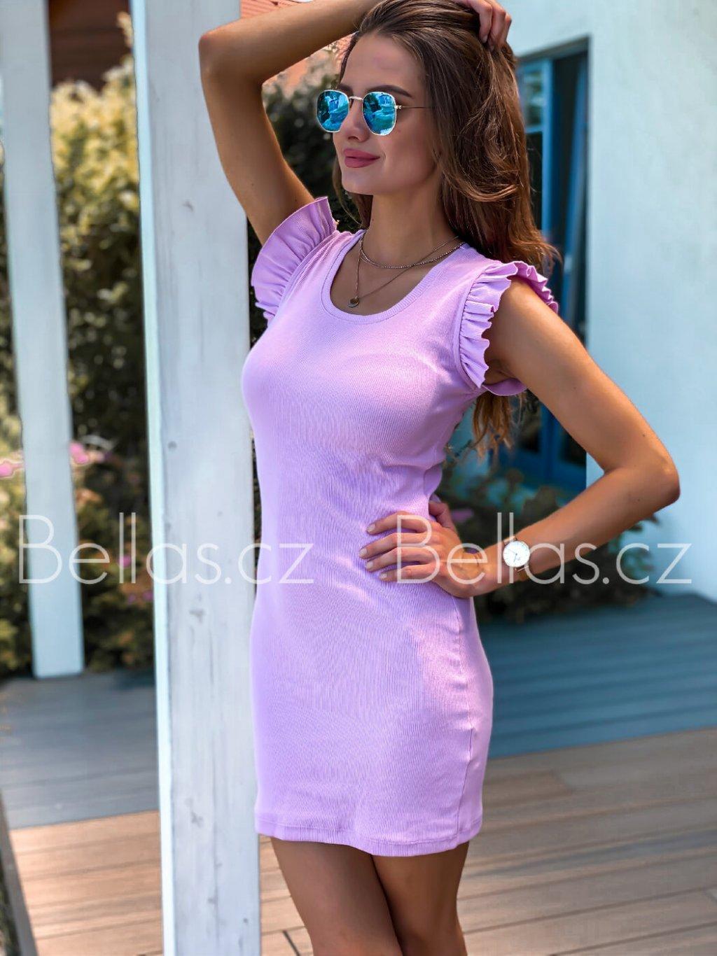 -Dámské motýlkové šaty 2 Lilla