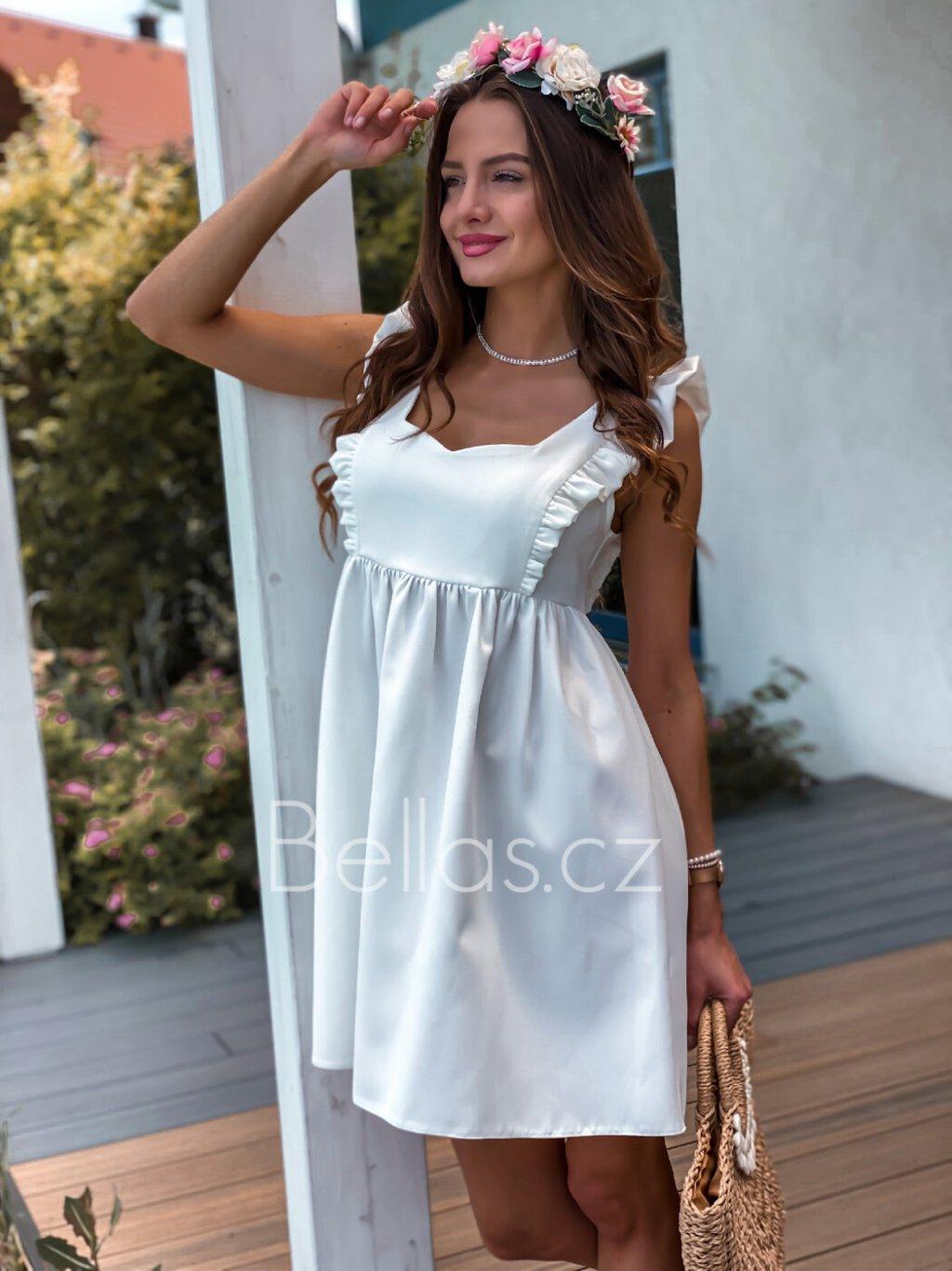 - Dámské šaty Emma exclusive/ Bíla