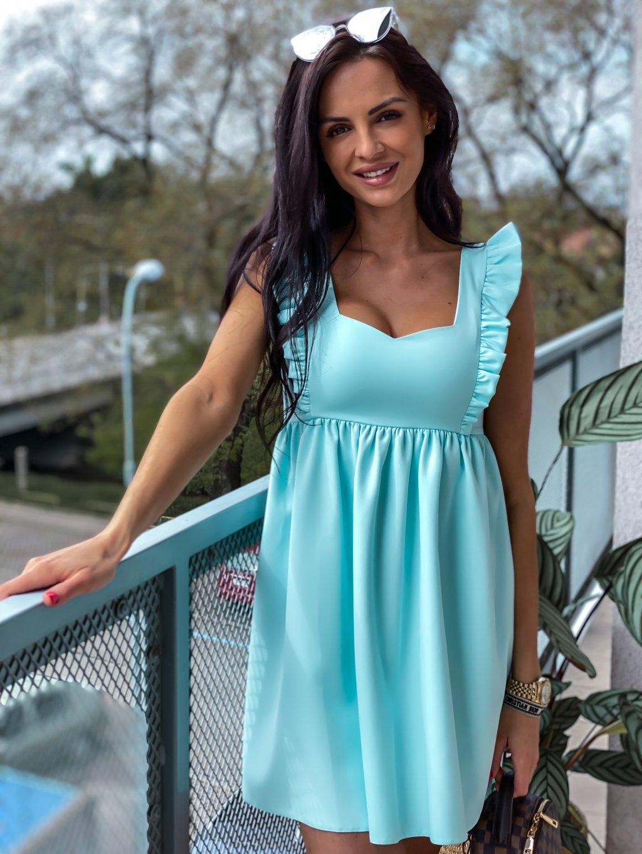 - Dámské šaty Emma exclusive/ Mentol