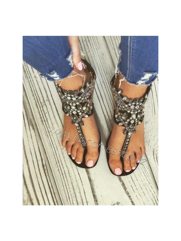 -Dámské Sandály Glam 37